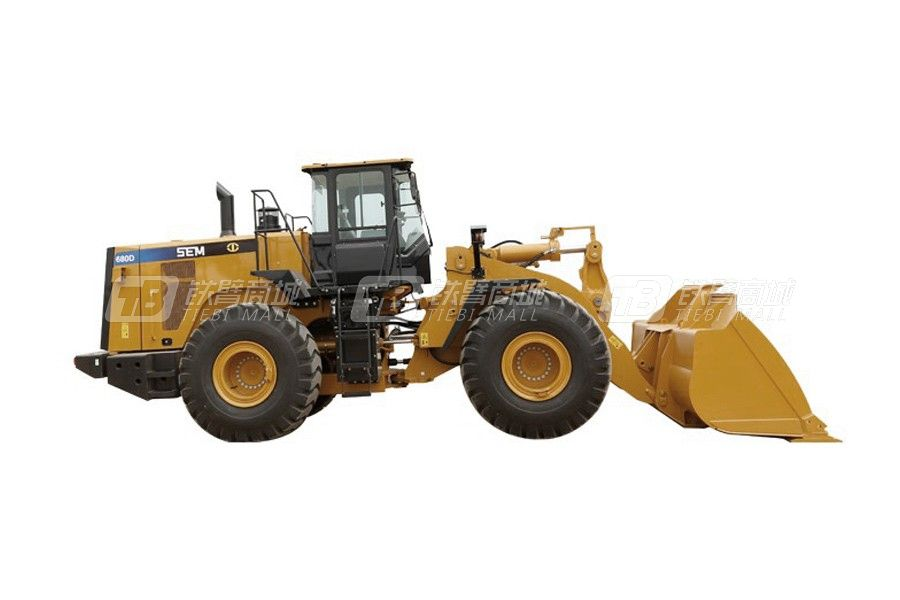 山工SEM680D轮式装载机