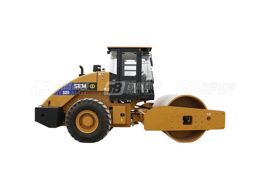 山工SEM520单钢轮压路机