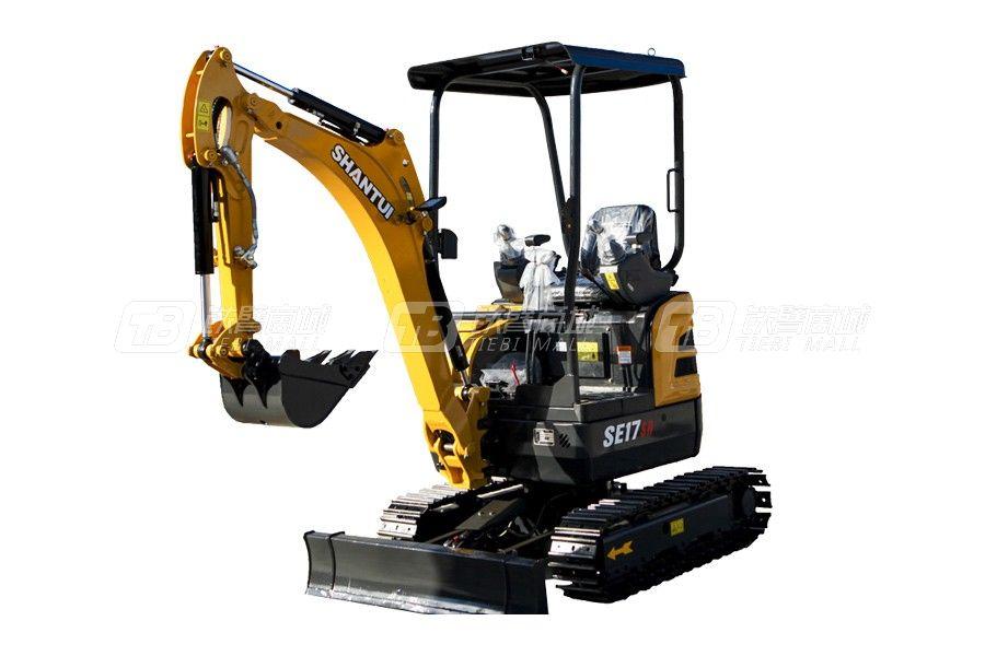 山重建机SE17SR履带挖掘机