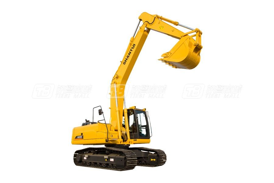 山重建机SHANTUISE215履带挖掘机