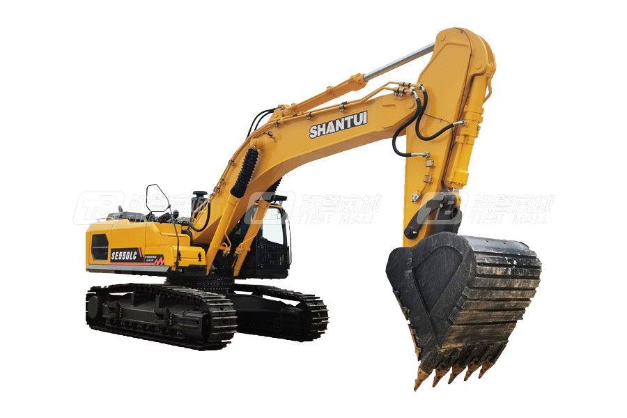 山重建机SE550LC履带挖掘机