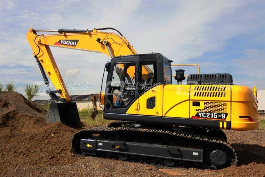 玉柴重工C215-9履带挖掘机