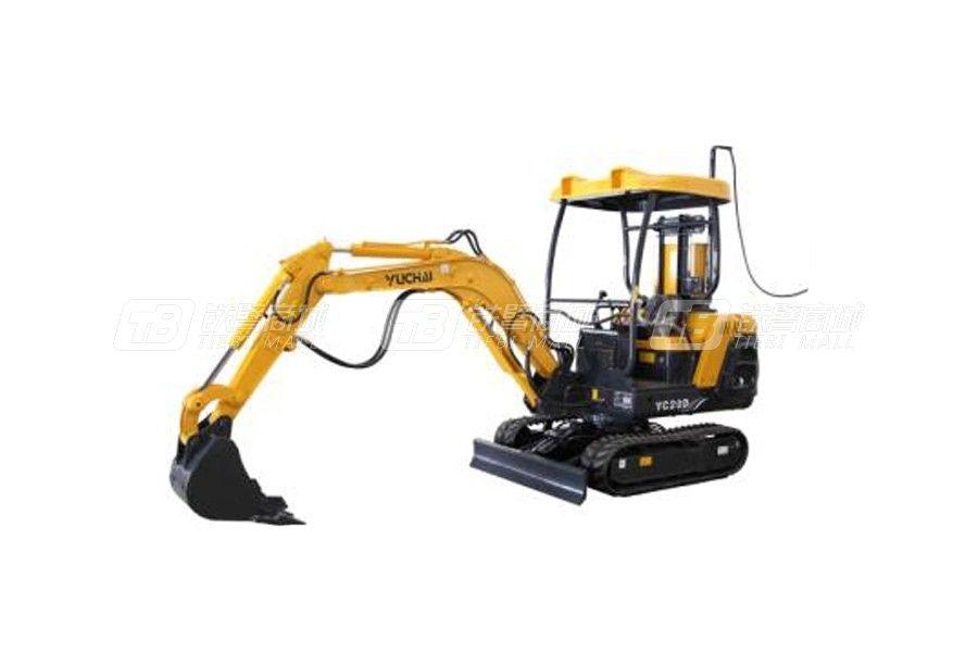 玉柴重工YC20D电动履带挖掘机