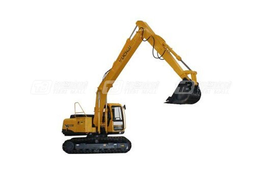 玉柴重工YC135D电动履带挖掘机