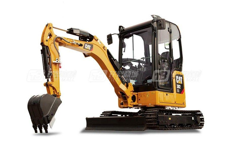 卡特彼勒新一代CAT<sup>®</sup>302 CR小型液压挖掘机