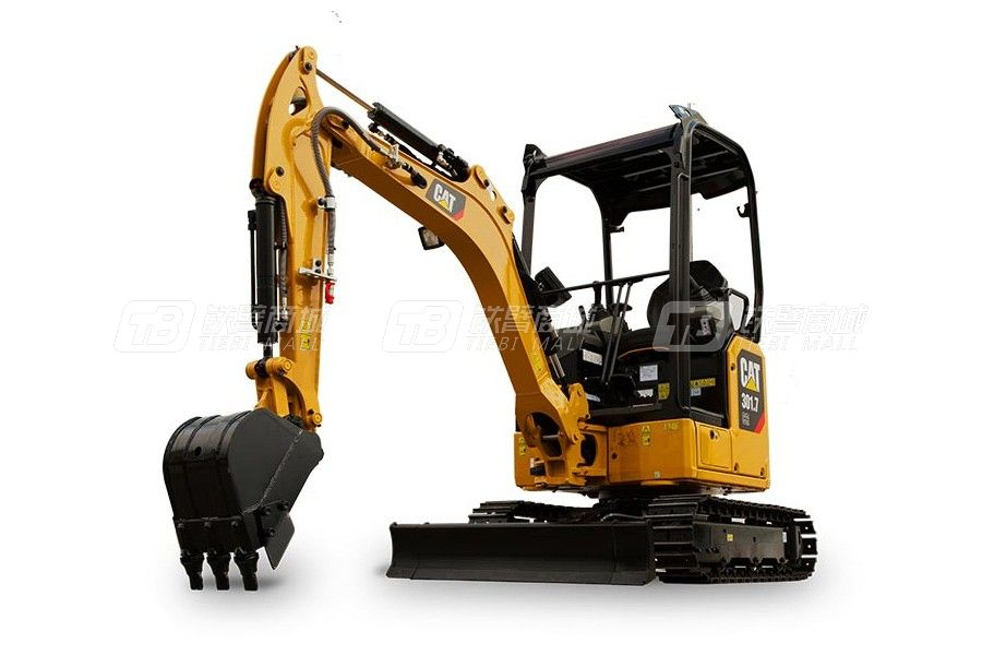 卡特彼勒新一代CAT<sup>®</sup>301.7 CR小型液压挖掘机