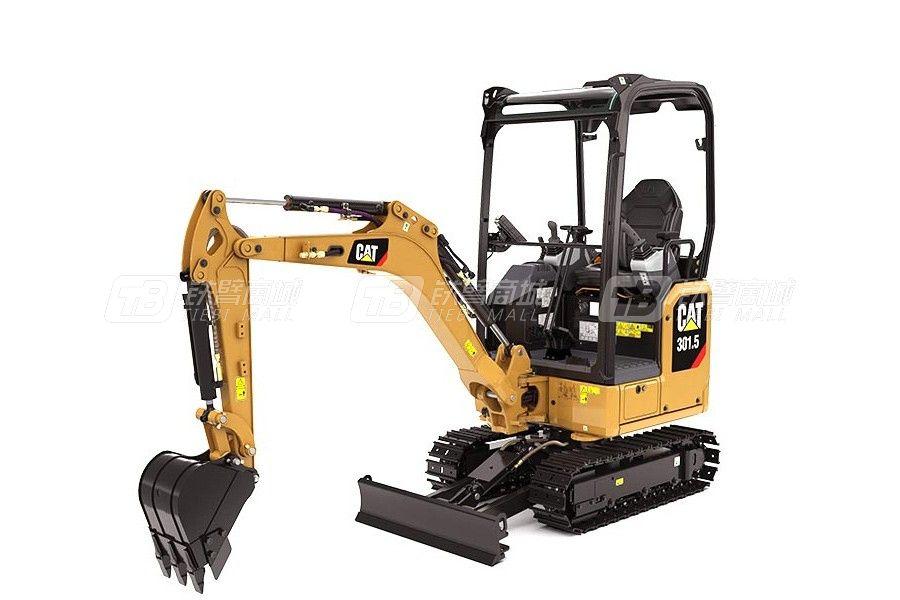 卡特彼勒新一代CAT<sup>®</sup>301.5小型液压挖掘机