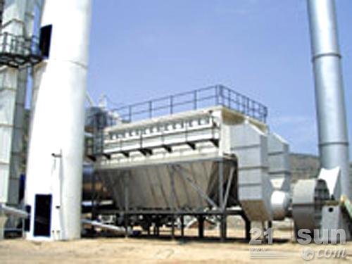 南方路机GLB4000成品仓底置式沥青混合料搅拌设备外观图4