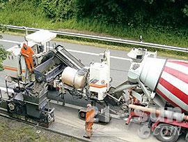 维特根SP 250滑模摊铺机图片