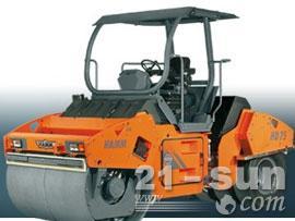 悍马HD75K单钢轮压路机