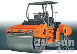 悍马HD120双钢轮压路机