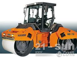 悍马HD 70双钢轮压路机