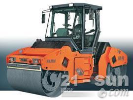 悍马HDO90VASC双钢轮压路机图片