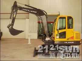 华力重工HL160挖掘机外观图3