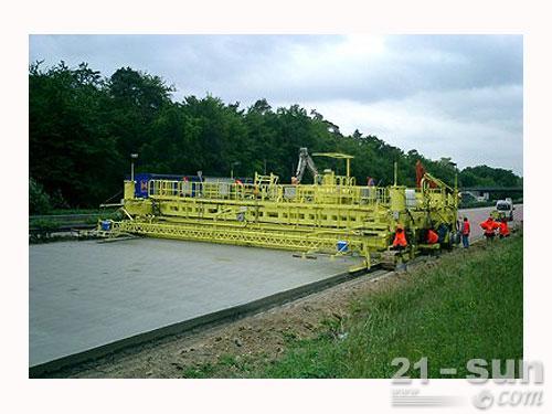维特根SP 1600滑模摊铺机外观图2
