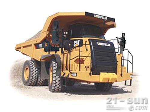 卡特彼勒770G刚性自卸卡车外观图1