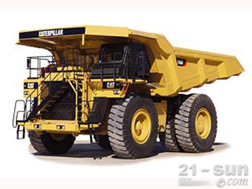 卡特彼勒785D矿用车外观图1