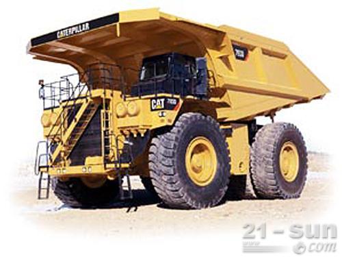 卡特彼勒793D矿用车外观图1