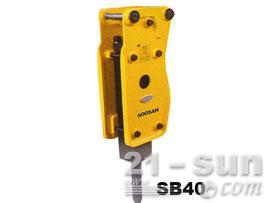 水山SB40直立型破碎锤