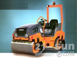 悍马HD12双钢轮压路机图片