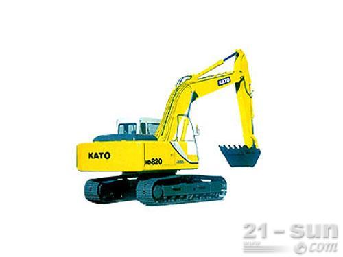 加藤HD820Ⅲ挖掘机外观图0