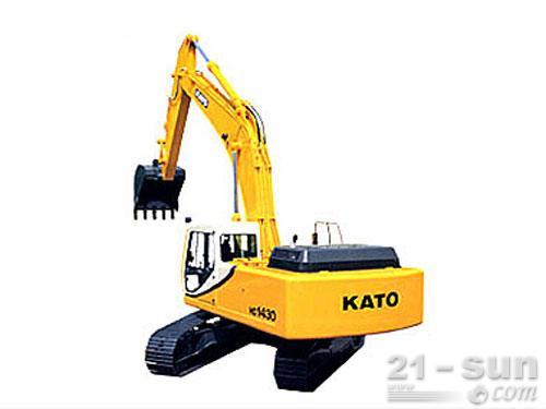 加藤HD1430III挖掘机外观图1