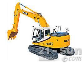 加藤HD823MRⅢ挖掘机外观图