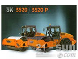 悍马3520/3520P单钢轮压路机