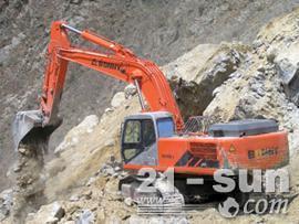 邦立重机CE400-6反铲挖掘机图片