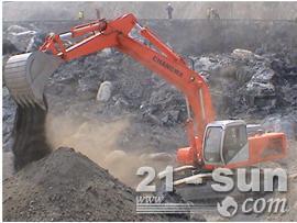 邦立重机CE460-5反铲挖掘机