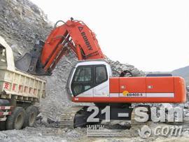 邦立重机CED460-5正铲全液压挖掘机
