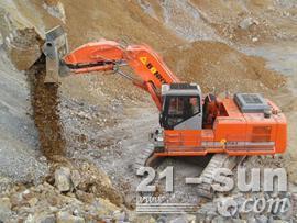 邦立重机CED750-7正铲挖掘机图片