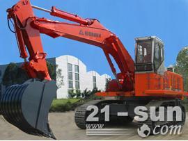 邦立重机CED750-7反铲挖掘机图片