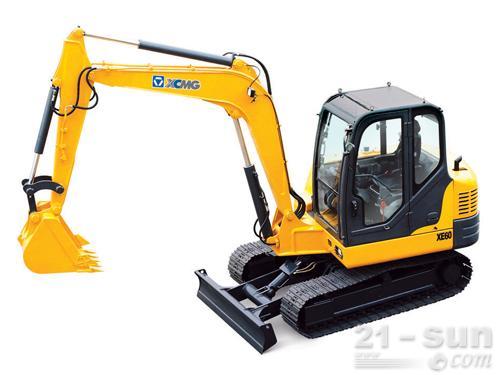 徐工XE60挖掘机外观图1