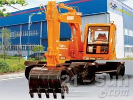 勤牛QNL90轮式挖掘机