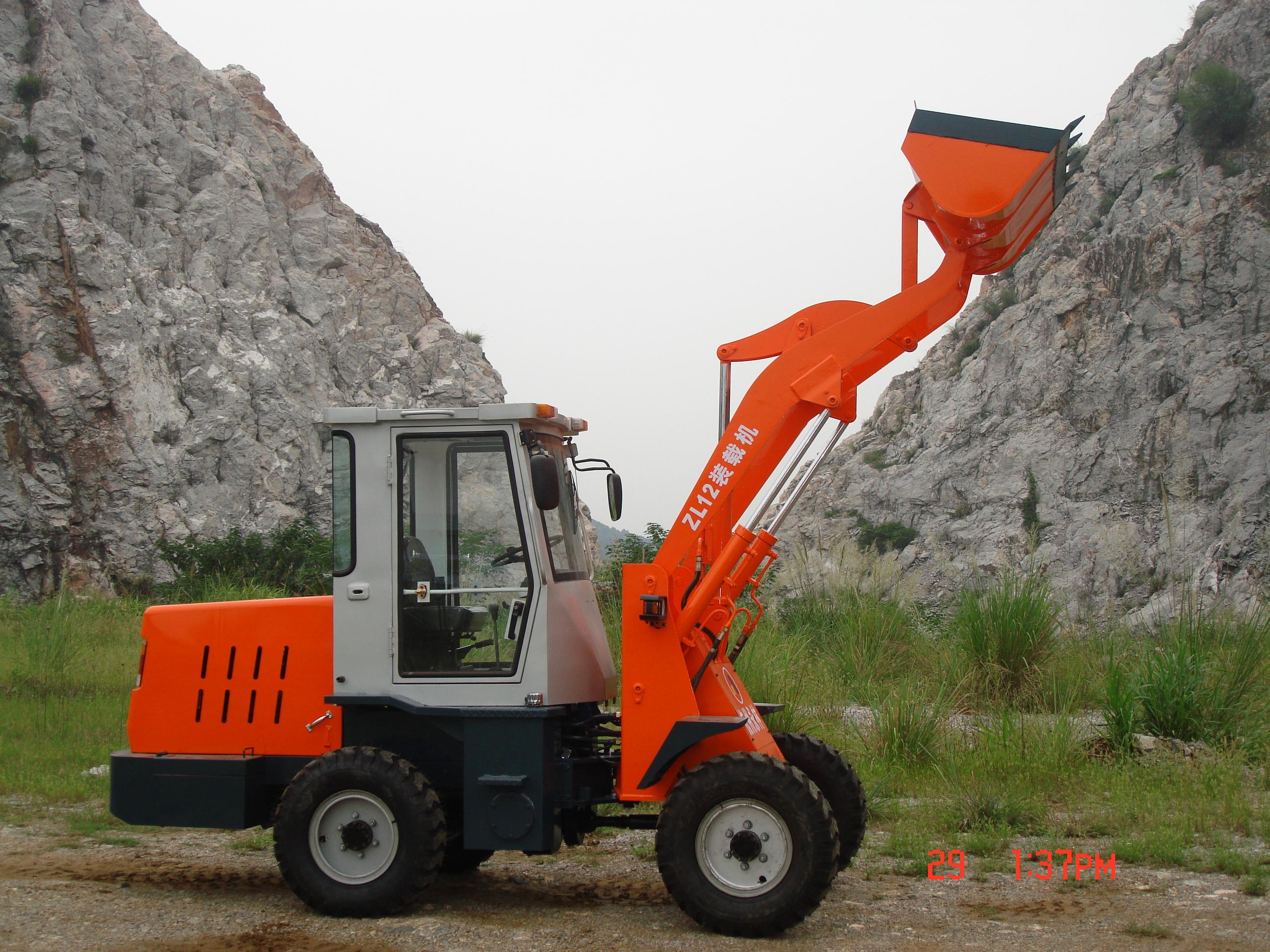杭州永林ZL12轮式装载机