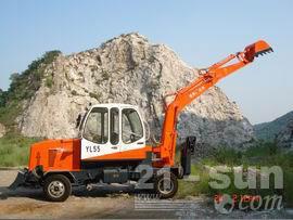 杭州永林YL55轮式挖掘机图片