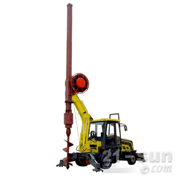 洛阳一拖DFR15轮式多功能旋挖钻机