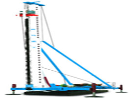 雷奥科技KLY625A长螺旋钻孔机图片