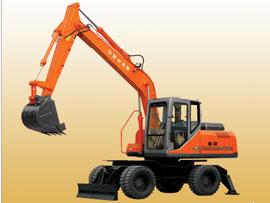 山东福临FL9128-4W轮式挖掘机