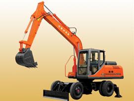 山东福临FL9128-2W轮式挖掘机