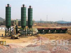 无锡雪桃SWCB300稳定土厂拌设备