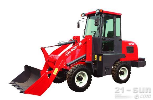 洛阳东方红x345-910轮式装载机