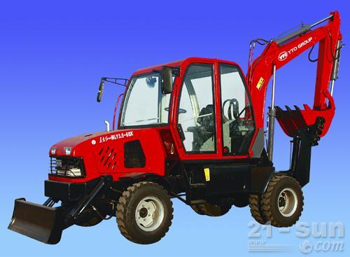 洛阳东方红WLY3.5-60x轮式挖掘机