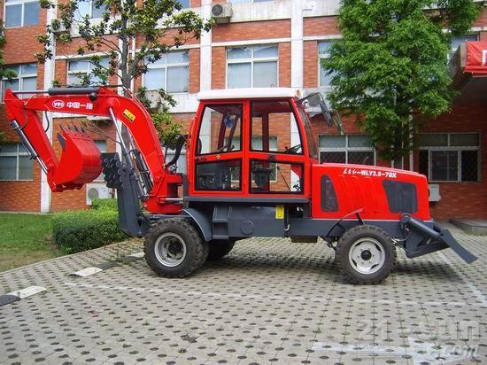 洛阳东方红WLY3.5-70X轮式挖掘机