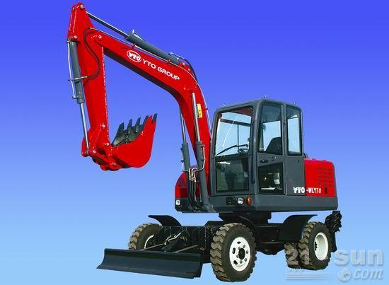 洛阳东方红WLY70轮式挖掘机
