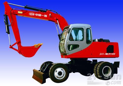 洛阳东方红WLY110Y/WLY100Y轮式挖掘机图片