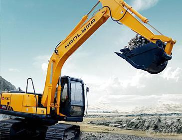 华力重工HL315挖掘机