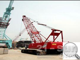 沈阳三洋QUY55履带式起重机图片