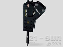 黑金钢HJB140三角型破碎锤图片